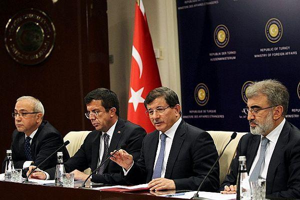 Davutoğlu, 'Irak'la işbirliği projelerimiz devam edecek'