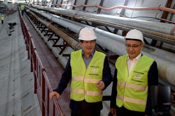 Davutoğlu dev projenin açılış tarihini açıkladı