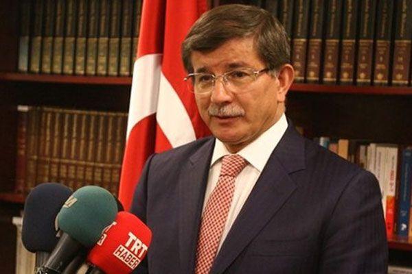 Ahmet Davutoğlu, 'Türkiye'yi şikayet ediyorlar'