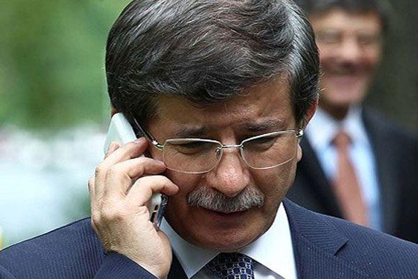 Başbakan Ahmet Davutoğlu'ndan sürpriz telefon görüşmesi
