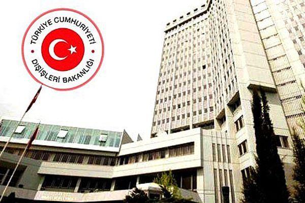 Dışişleri'nden Türk rehinelerle ilgili yazılı açıklama