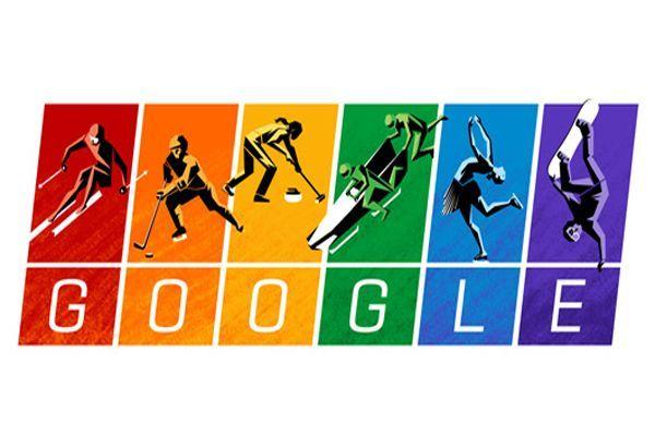 Google'dan Olimpiyat ilkeleri'ne özel renk çümbüşlü doodle