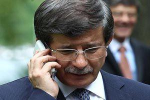 Davutoğlu'dan telefon diplomasisi