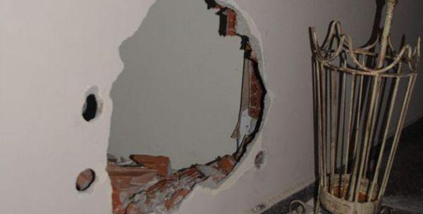 İzmir'de inanılmaz olay, duvarı delip bakın ne çaldılar