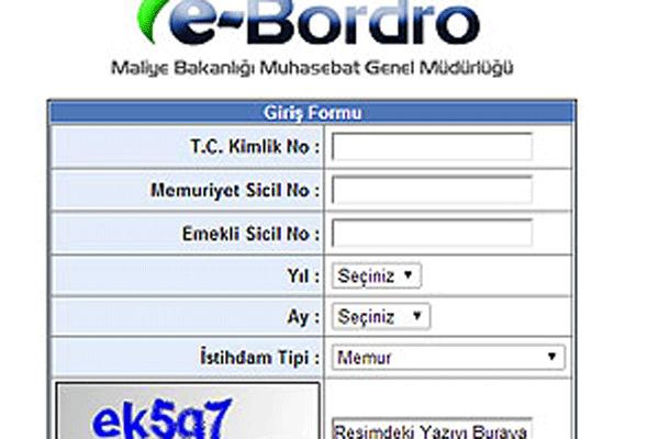 E-Bordro sorgulama (E- Bordro Maaş 2014) tıkla öğren