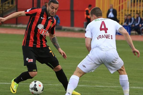 Eskişehirspor tek golle güldü