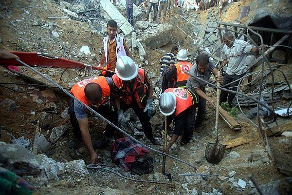 Ateşkesin başlamasından bu yana 85 ceset çıkarıldı