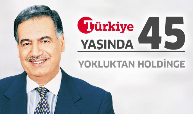 Türkiye Gazetesi 45 yaşında