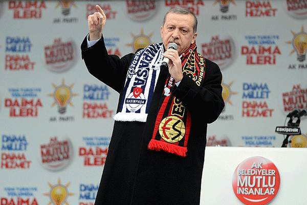 Başbakan Erdoğan Eskişehir'de halka hitap etti