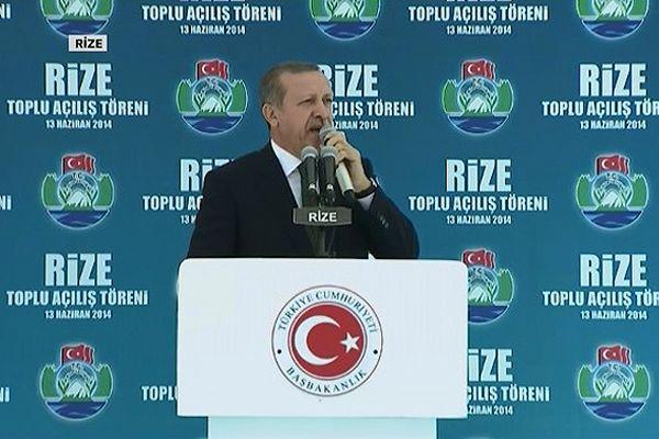 Başbakan Erdoğan Rize'de konuştu