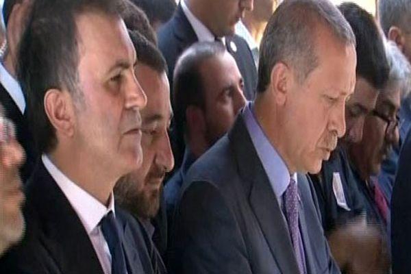 Erdoğan, Murat Göğebakan'ın cenaze törenine katıldı