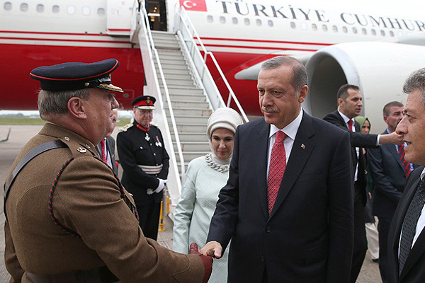 Cumhurbaşkanı Erdoğan, NATO zirvesi için Galler'de