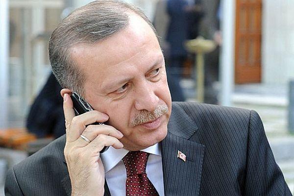 Erdoğan, Meşal ile telefonda görüştü