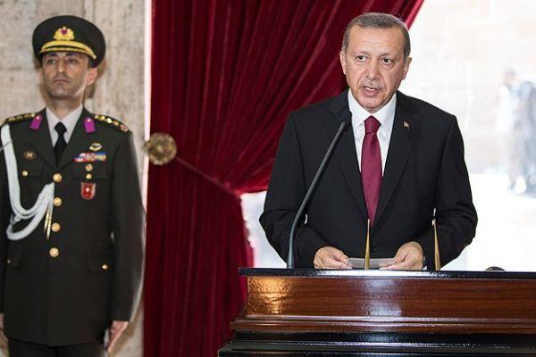Erdoğan, 'Bugün Türkiye'nin küllerinden doğduğu gündür'