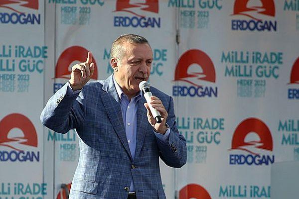 Başbakan Erdoğan Erzurum'da halka hitap etti