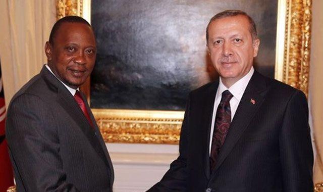 Başbakan Erdoğan Kenya Cumhurbaşkanı ile biraraya geldi
