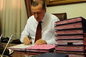 Başbakan Erdoğan'a sunulan son anket