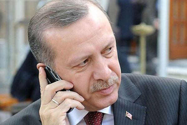 Cumhurbaşkanı Erdoğan, Trabzon Valisi'ni aradı