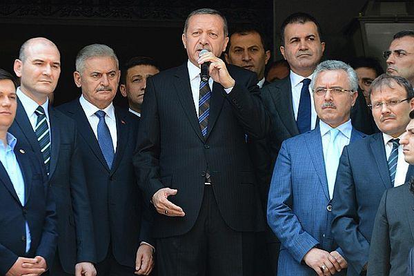 Erdoğan, 'Cumhurbaşkanlığı makamı vitrin makamı değildir'
