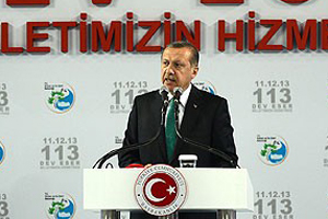 Başbakan Erdoğan, 113 tesisin açılışını yaptı