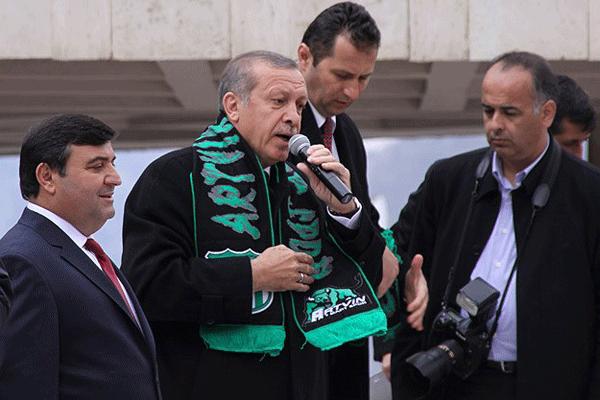 Başbakan Erdoğan Artvin'de halka seslendi
