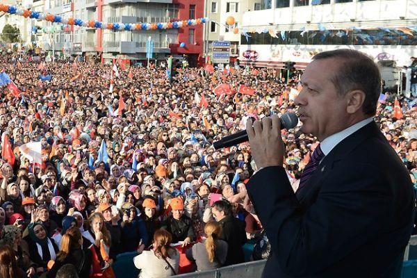 Başbakan Erdoğan, Uşak'ta halka seslendi