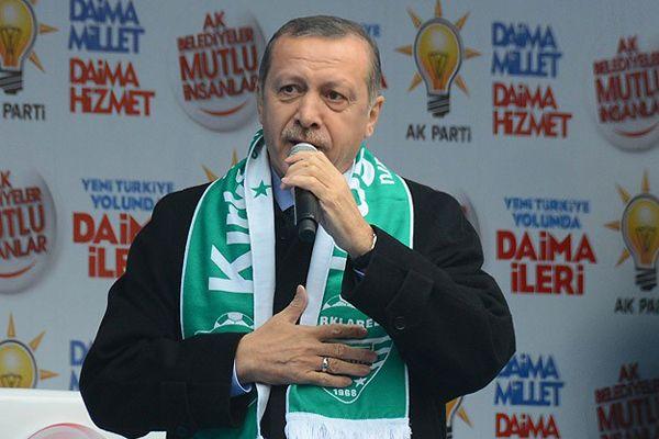 Başbakan Erdoğan Kırklareli'de halka seslendi