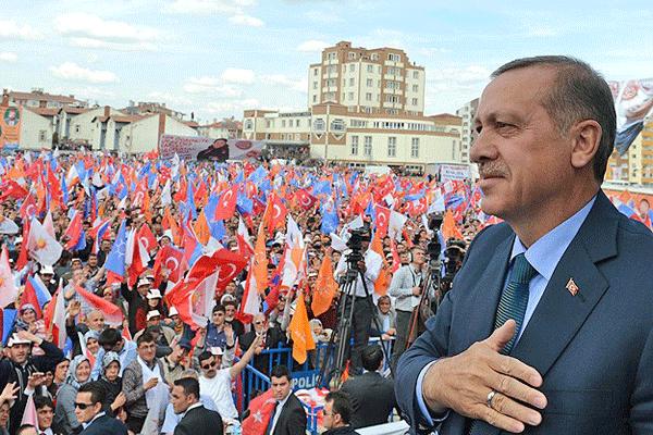 Başbakan Erdoğan Kastamonu'da halka seslendi