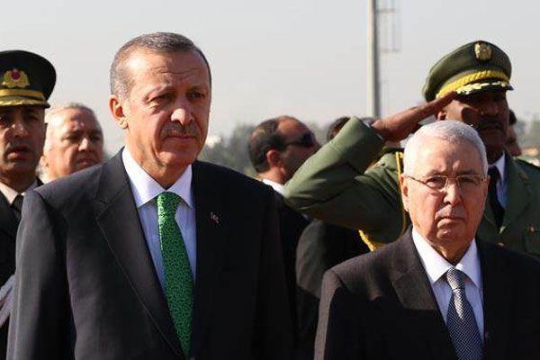 Erdoğan, Cezayir mevkidaşı Buteflika ile bir araya geldi