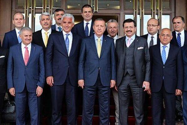 Başbakan Erdoğan'dan İş Dünyası ile İstişare