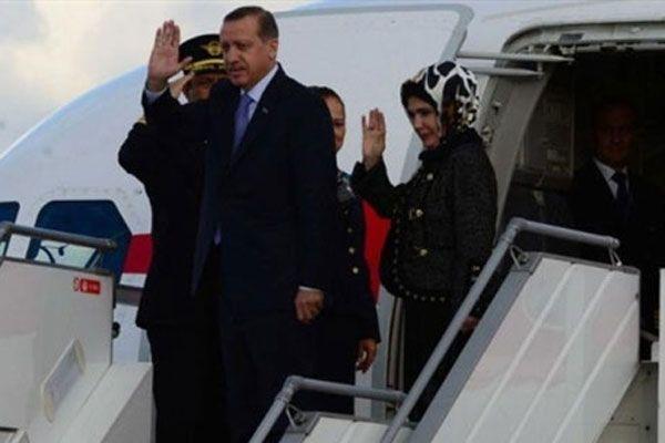 Erdoğan Türkmenistan'dan ayrıldı