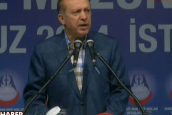 Erdoğan'dan uyarı, 'Sakın tezgaha gelmeyin'