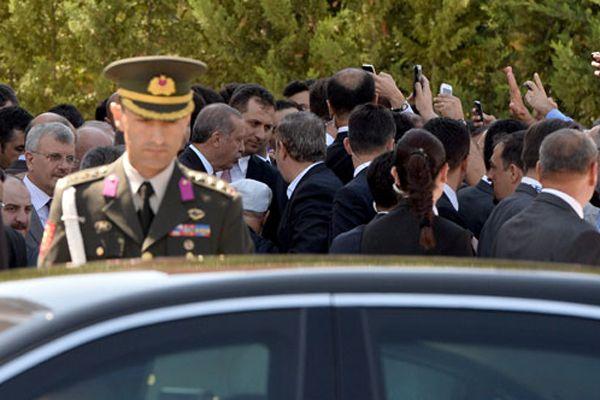 Vatandaştan Cumhurbaşkanı Erdoğan'a büyük ilgi