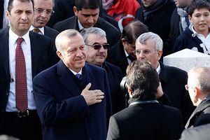 Başbakan Erdoğan'a sevgi seli