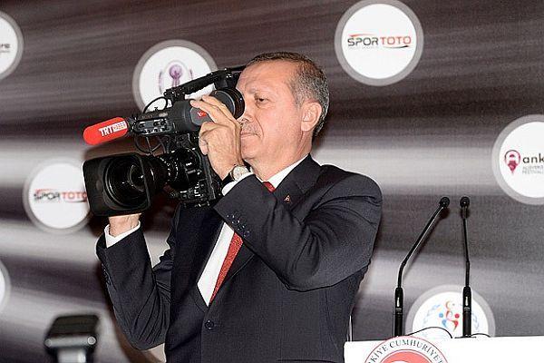 Başbakan Erdoğan çekim yaptı