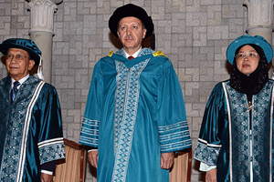Başbakan Erdoğan'a fahri doktora