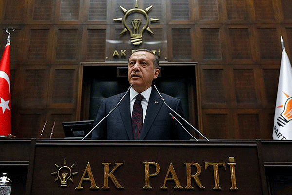 Erdoğan, partisinin grup toplantısında konuştu