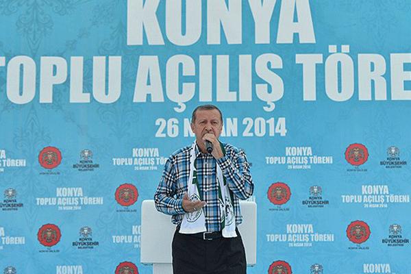 Erdoğan, Konya'da toplu açılış töreninde konuştu