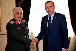 Başbakan Erdoğan, Orgeneral Özel ile görüştü