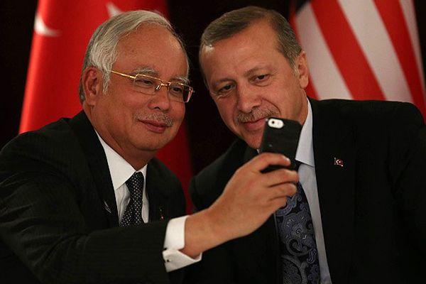 İşte Başbakan Erdoğan'ın selfie fotoğrafı