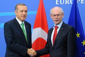 Erdoğan, Barroso ve Van Rompuy ile bir araya geldi