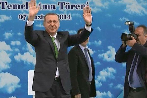 Erdoğan, 3. Havalimanı temel atma töreni açılışında konuştu