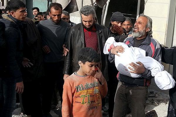 Esad güçleri yine katliam yaptı