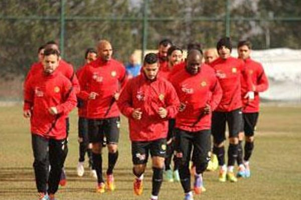 Eskişehirspor'da 4 eksik