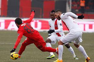 Eskişehirspor, Gaziantepspor'u 2-0 mağlup etti