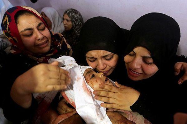 Gazze'de yüreklere evlat acısı düştü
