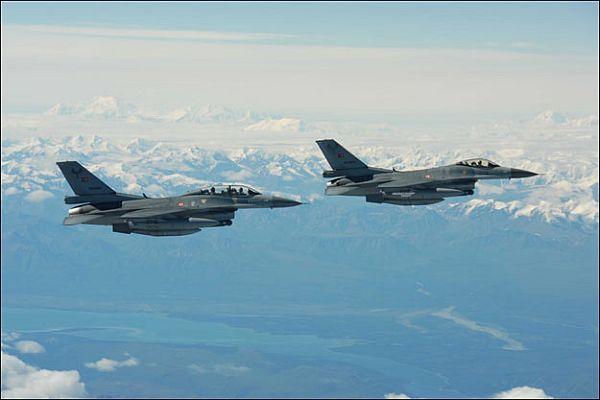 Türk savaş uçakları Musul için havalandı