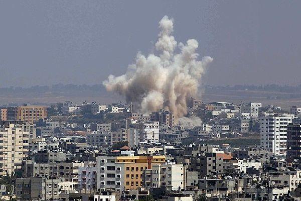 İsrail Filistin Meclis binasını bombaladı