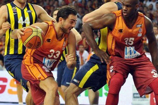 Fenerbahçe, Galatasaray basketbol maçında kritik viraj