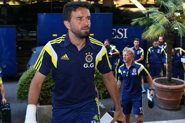 Fenerbahçe kafilesi Roma'ya vardı